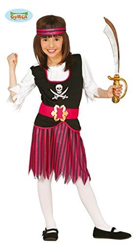 Guirca 83380 - piraat voor kinderen, maat 7-9 jaar