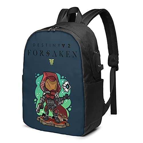 Striker Destiny 2 Merchandise mochila útil para hombres y mujeres ligera mochila escolar casual