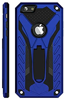 Kitoo Designed for iPhone 6 Case/Designed for iPhone 6S Case with Kickstand Military Grade 12ft Drop Tested - Blue