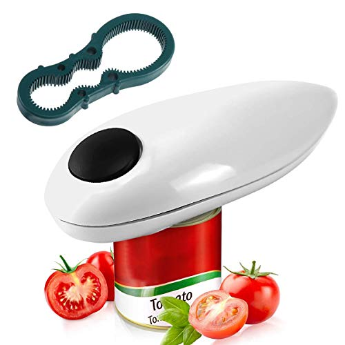 Electric Can Opener, Restaurant can Opener, Smooth Edge Automatic Electric Can Opener! Chef's Best Choice,Best Kitchen Gadget for Arthritis
