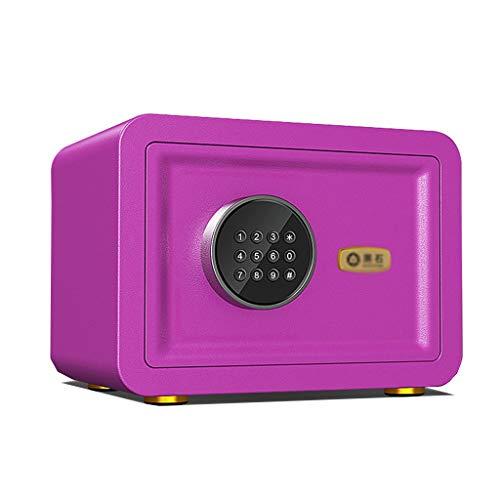 ZLQ Tresore Digitaler Sicherheits-Safe, Tastatur-Schließfach Mit Tastatur, Schrank Mit Doppelalarmfunktion Ideal für Zuhause, Hotel, Büro (Color : Style4)