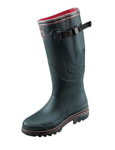 Aigle PARCOURS 2 ISO, Unisex Adults' Wellington Boots, Green (Bronze), 8 UK (42 EU)