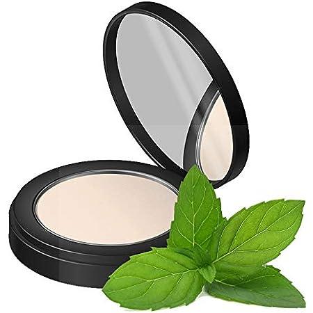 Fifth & Skin (MEDIUM) Better'n Ur Skin - Prep n Set Blur Powder - Natural Face Powder - Organic Pressed Makeup - Cruelty Free - TALC Free - Blurs Fine Lines - Controls Shine - Prolongs Foundation