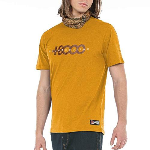 +8000 Asase Camiseta, Hombre, Mostaza Vigore, XL