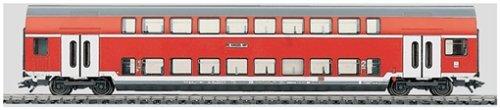 Märklin - 43584 - Modélisme Ferroviaire - Wagon - Voiture 2 Niveaux - Premier / Deuxième Classe DB AG