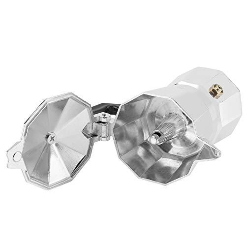 Eulbevoli Moka Pot, cafetera de Aluminio, cafetera de Aluminio, para Oficina en casa