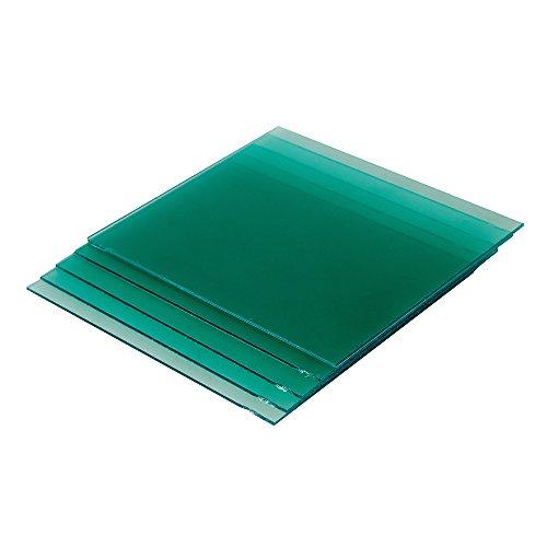 Silverline 467860 Schweißerhelm-Vorsatzscheiben, 5er-Packg. Innere Scheibe (757060), grün, 5 Stück