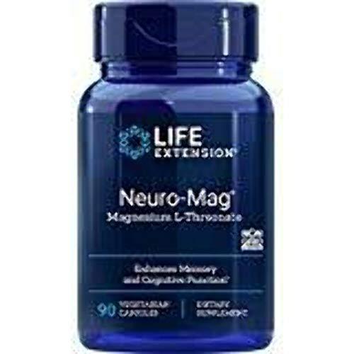 Life Extension - Magnesio L-Threonate di Neuro-Mag - 90 Capsule vegetariane