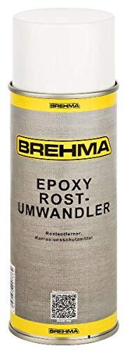 BREHMA Epoxy Rostumwandler Spray 400ml Rostentferner Rostschutz Roststopp