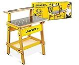 nfd Stanley Junior - Etabli en Bois pour Enfants WB002-SY - Espaces de Rangement intégrés Large Plan de Travail - à partir de 5 Ans