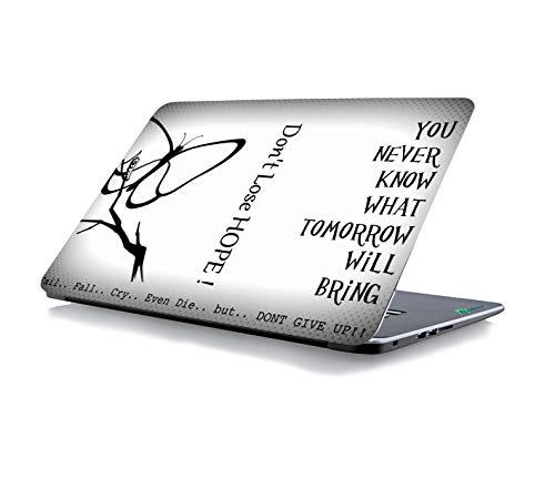 RADANYA Verlieren Sie Nicht Die Hoffnung, DASS Der Laptop-Skin-Aufkleber Für Alle Modelle Für Bildschirmgrößen Geeignet Ist - 15 X 10 Zoll