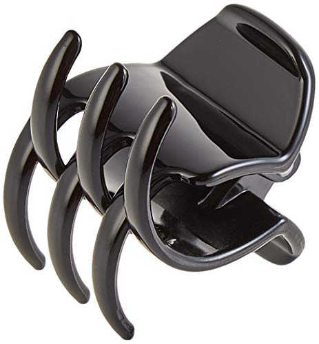 Glamour Style Pince À Cheveux Moyen Modèle 3, 5cm Noir