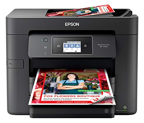 Epson Workforce Pro WF-3730 Impresora a color inalámbrica todo en uno