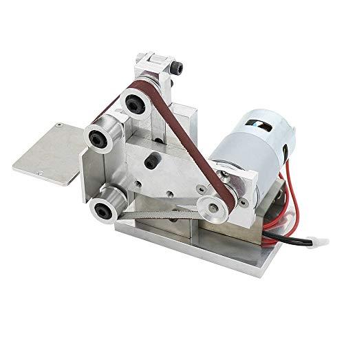 Tabanlly Grinder Elektrische Bandschleifer Messerschärfer DIY Mini Polierschleifen Silberbandmaschine Sander Polierschleifmaschine