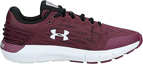 Under Armour Women's Charged Rogue Running Shoe, Level Purple (501)/Black, 5