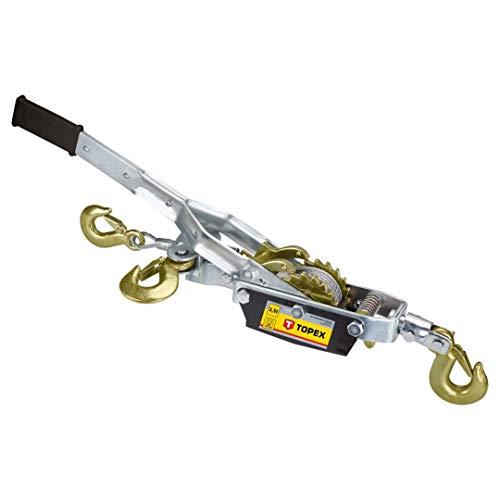 Seilwinde 3,5 t, L max. 2,5 m, Masse 5,9 kg TOPEX 97X082