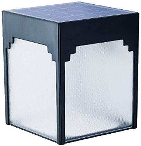 Outdoor Zonne-muur lantaarn muur schans, zonne-Outdoor Tuinlampen Led Licht Bevestiging Wandsteun voor Voordeur Terug Yard-Cold Wit 1 Stks