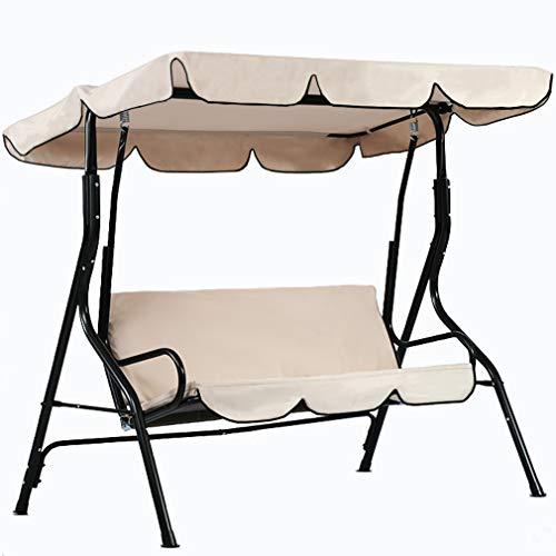 FDW Patio Swing Canopy Glider Hammock Chair Patio Backyard Porch Furniture