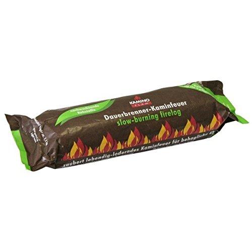 40 Stück KaminoFlam Dauerbrenner-Kaminfeuer, 100% nachwachsende Rohstoffe