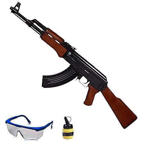 Fusil Kalashnikov AK47 (Muelle) | Rifle de Airsoft (Bolas PVC de 6mm) . Arma Larga Tipo AK-47.