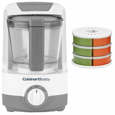 Baby Food Maker, Bottle Warmer with Baby Food...