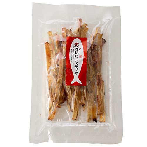 炙りいわしスティック 80g (炙り鰯)味付けイワシを香ばしく炙って食べやすくスティック状にしました(骨ごと旨いイワシの珍味)いわしの食感がクセになる カルシウム豊富なイワシの珍味