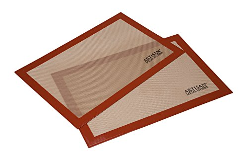 Silicone baking mats (16. 5 x 11-inches)