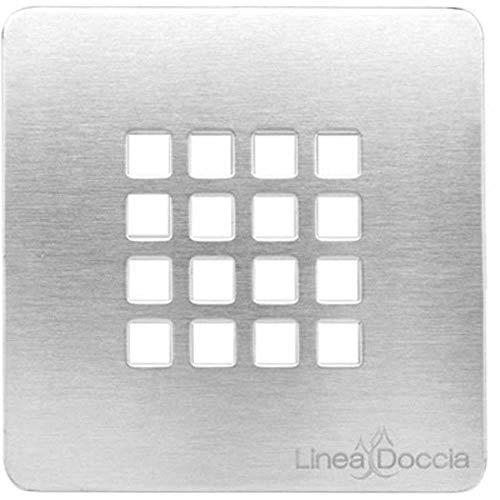 Rejilla para plato ducha ribassato simil-stone-cm 12,5x 12,5