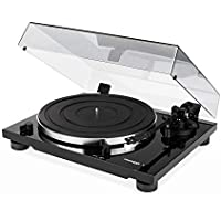 Thorens TD 201 Manual Two-Speed Turntable with Built-In Preamp