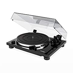 The new Thorens TD 201 is the right choice for anyone looking for a robust, easy to use plug and play turntable. It comes with a smooth running belt drive and a aluminium platter with rubber mat. The new Thorens TP 71 tonearm uses a detachable headsh...