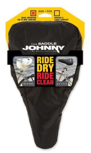 White Lightning Saddle Johnny Bike Seat Protector, Small/Medium by White Lightning