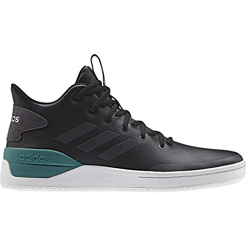 adidas Bball80S, Scarpe da Basket Uomo, Nero (Core Black/Grey Six/Active Green Core Black/Grey Six/Active Green), 40 EU
