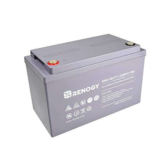 Renogy Deep Cycle AGM Battery 12 Volt 100Ah for RV, Solar Marine and Off-grid Applications 1 Avoid over - discharging batteries, especially when they are in series connections. Charge the batteries with recommended voltages, ensure the battery can be fully charged. Generally, recharge capacity should be 1. 1 1. 5 * The discharge capacity.