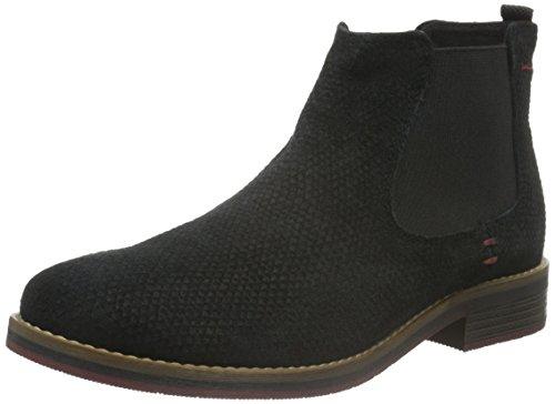 s.Oliver Damen 25335 Chelsea Boots, Schwarz (Black Snake 36), 41 EU