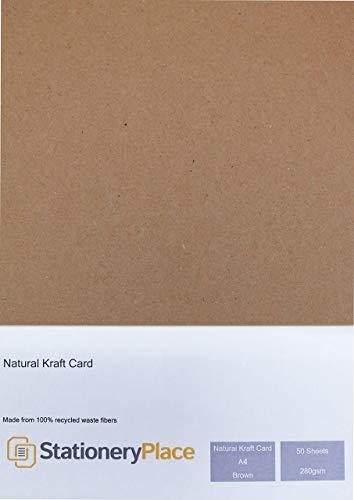 Papermania Square Cards W//Envelopes 5X5 50//Pkg-Recycled Kraft