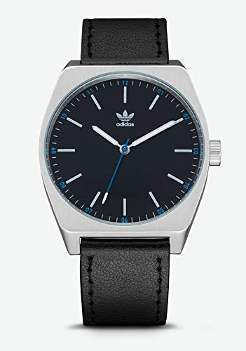 Adidas Herren Analog Quarz Smart Watch Armbanduhr mit Leder Armband Z05-625-00