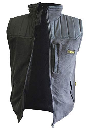 COPTEX Buchner Fleece Freizeit Security Weste schwarz - XL