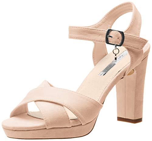 XTI 32035, Zapatos con Tira de Tobillo para Mujer