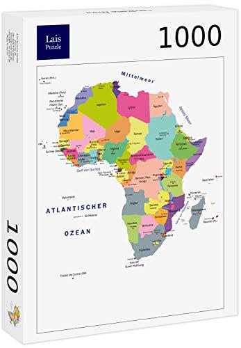 Lais Puzzle Mapa de África de 1000 piezas.