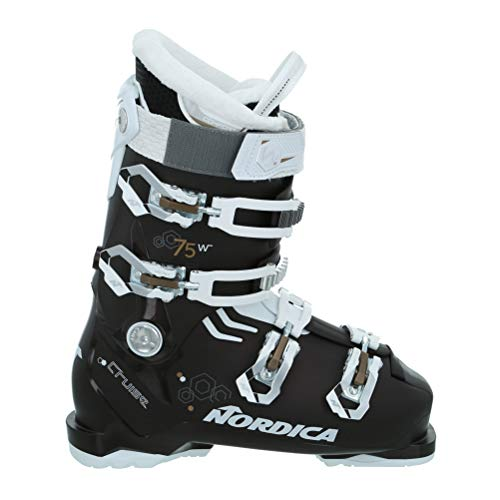Nordica Cruise 75 Womens Ski Boots - 27.5/Black Pearl-White-Bronze