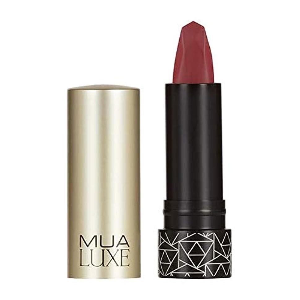 栄光そよ風苦味[MUA] Muaラックスベルベットマットリップスティック#5 - MUA Luxe Velvet Matte Lipstick #5 [並行輸入品]