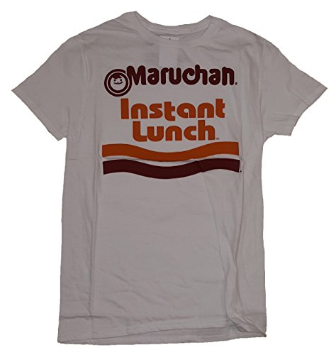 Fashion Maruchan Instant Lunch Ramen Noodles White Graphic T-Shirt - X-Large