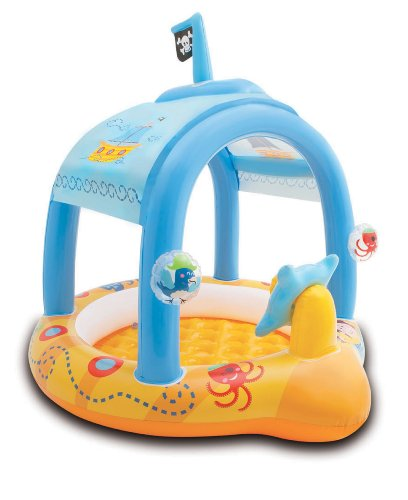 Intex 57426NP - Lil'Captain Baby Pool, 107 x 102 x 99 cm