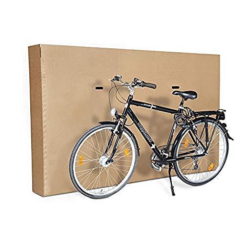 Caja resistente para transportar bicicletas – Montaje rápido y fácil de transportar. 1900 x 250 x 1200 mm