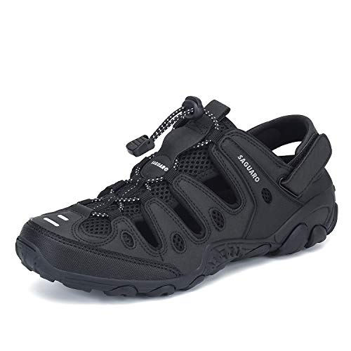 Mens Womens Athletic Hiking Sandal Closed Toe Outdoor Walking Water Shoes