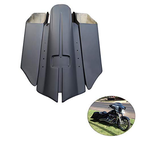 For Sale! XMT-MOTO 7 Extended Stretched Saddlebags with No Cut Outs and Rear Fender fits for Harley...