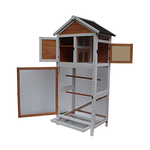 Festnight Wooden  Pet Play House