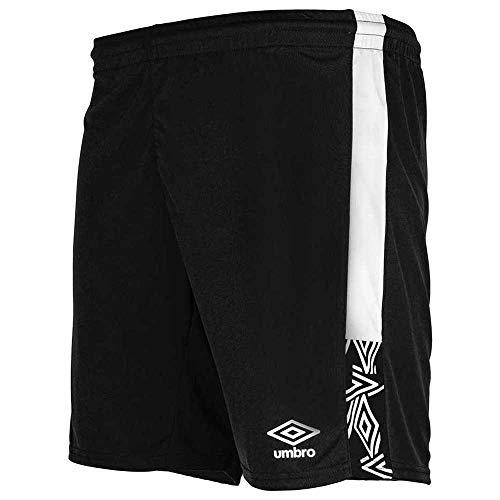 Umbro Rose Short – Pantaloncini da Allenamento da Uomo, Uomo, Pantaloncini da Allenamento, 22002I, Nero, M