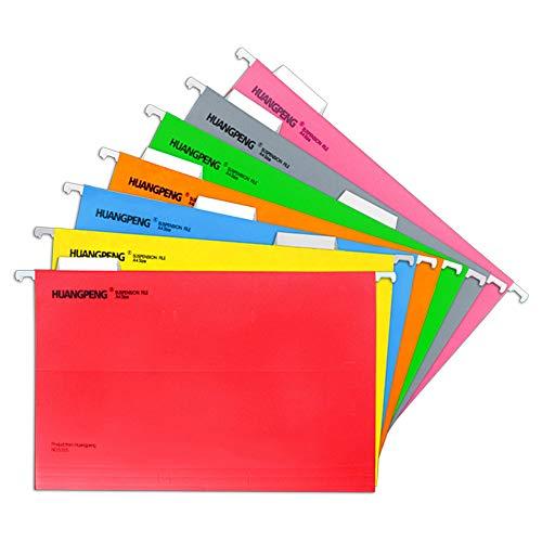 Carpeta colgante de tamaño A4 para archivo de documentos con pestañas (paquete de 14)