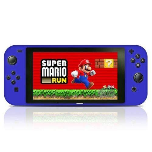 OSTENT Silikon Anti-Rutsch-Schutzhülle Hülle Tasche für Nintendo Switch Console Controller Farbe Blau